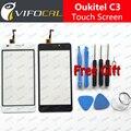 Oukitel C3 сенсорный экран + Инструменты Подарочный Набор 100% Оригинал Дигитайзер Стеклянная Панель Замена Тяга Для Oukitel C3 Сотовый Телефон
