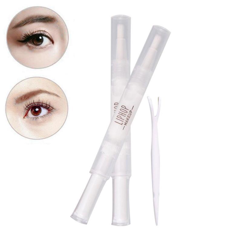 Liphop Brand Double Eyelid Gel font b Cream b font Double Head Eyelids Pen Invisible Eyelid