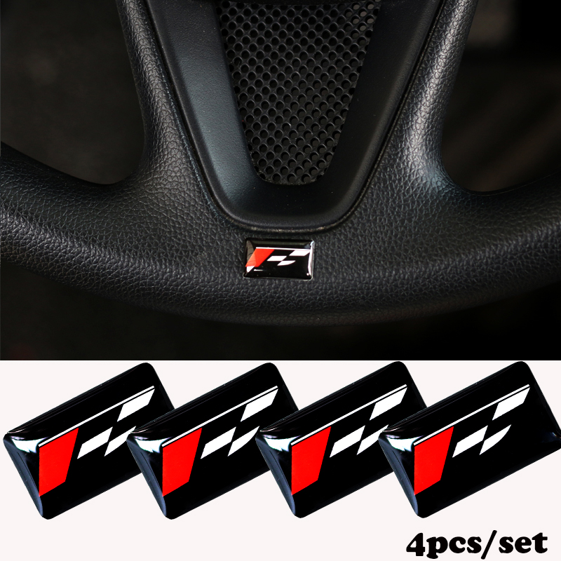 <font><b>Car</b></font>-styling Sport <font><b>Wheel</b></font> Badge 3D Emblem Sticker Decals Logo For <font><b>Seat</b></font> <font><b>Leon</b></font> Ibiza cupra <font><b>Altea</b></font> Belt Racing The <font><b>car</b></font> stickers image