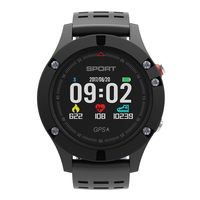 NO.1 F5 Heart Rate Monitor Smart Watch GPS Heart Rate Monitor IP67 Waterproof Sport Wristband