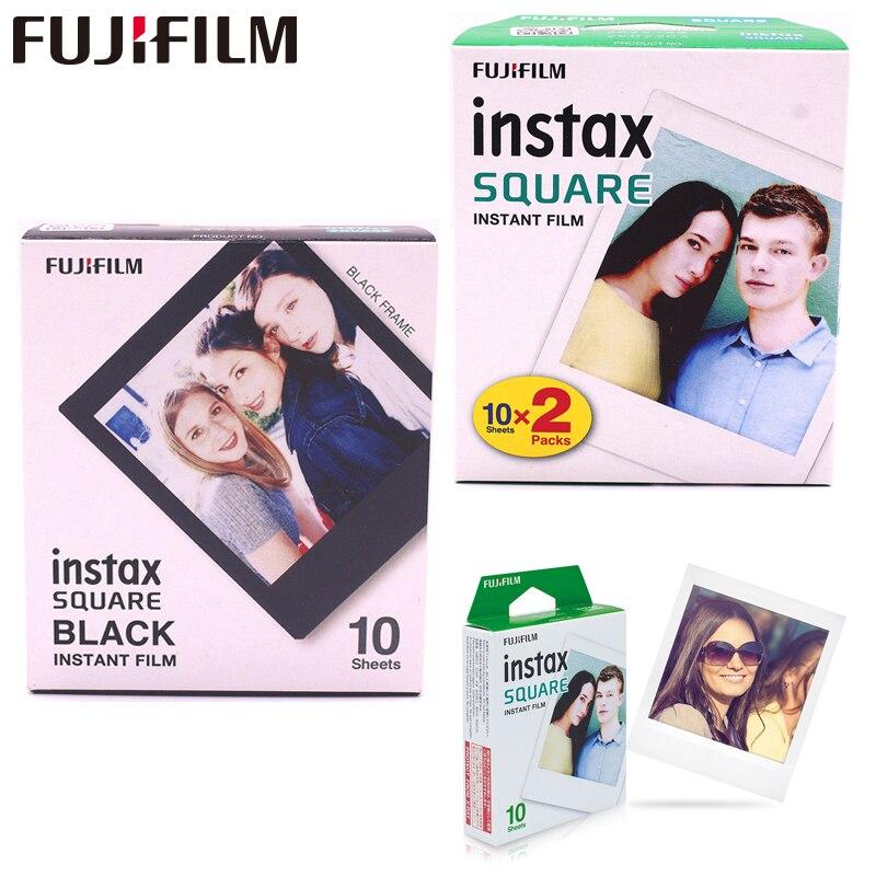 10-100 feuilles Fujifilm Instax Carré Instantané bord blanc Film Instax Square SQ10 format Hybride partager sp-3 M² appareil photo instantané