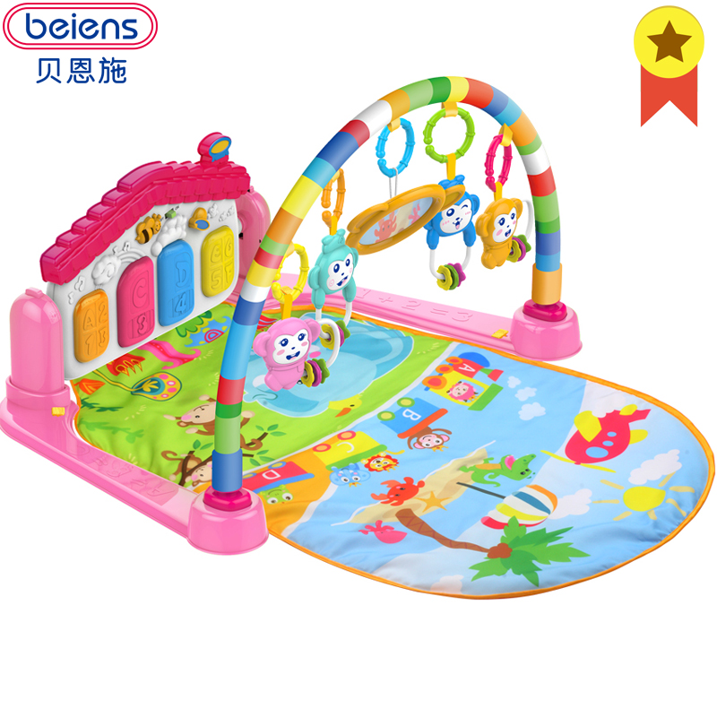Beiens Mat Puzzle Soft Baby Mats Gym Educational Kids Playmat Child Carpet Developmental Crawling Pad Toy with Keyboard LIMITED все цены