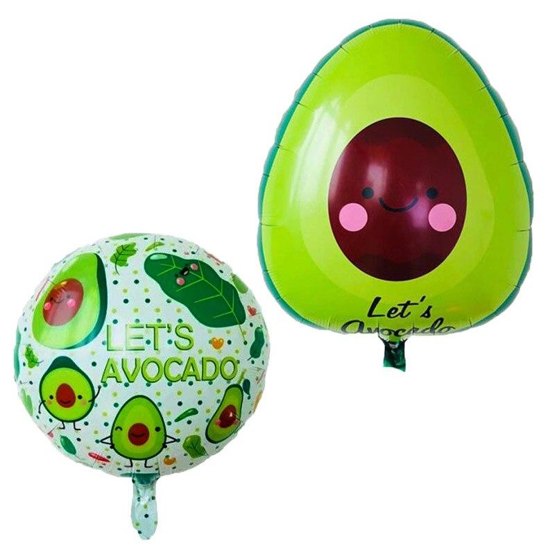 1 stücke 60*58cm avocado ballon Geburtstag Party Hochzeit Dekoration Luftballons Kinder Klassische Spielzeug Inflatabel Obst ballon