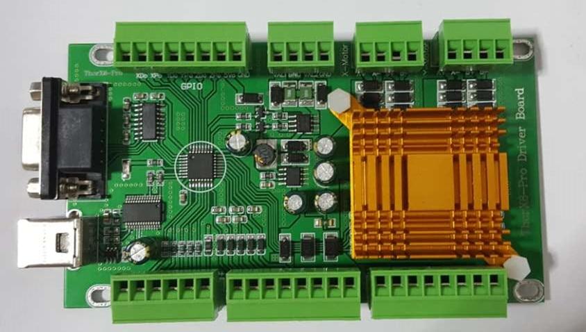 Thorx6 pneumatic machine control board usb machine control board heat dissipation