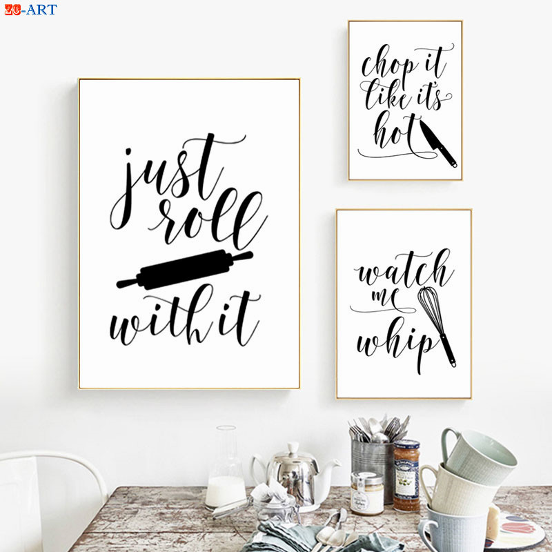 Kitchen Wall Quotes Decals | VWAQ.com - Vinyl Wall Art ...