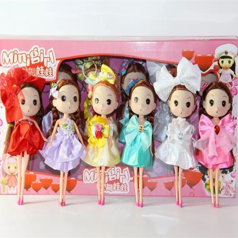 18cm 6pcs/lot New toy! Cute Confused Doll Mobile Phone Pendant, Fashion Dolls Kid Gift Family games Doll