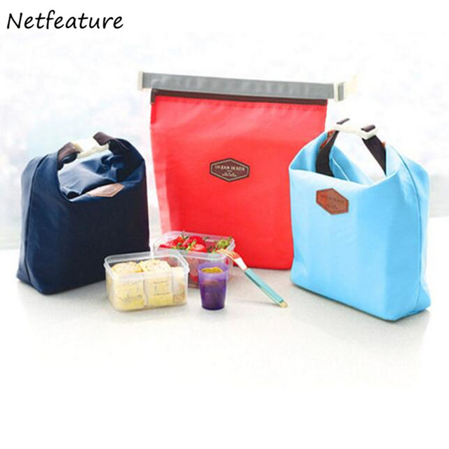 2017new Pocket Food Warmer Bag Thermal Cooler Lnsulated Waterproof Folding Lunch Carry Storage Bags Pouch