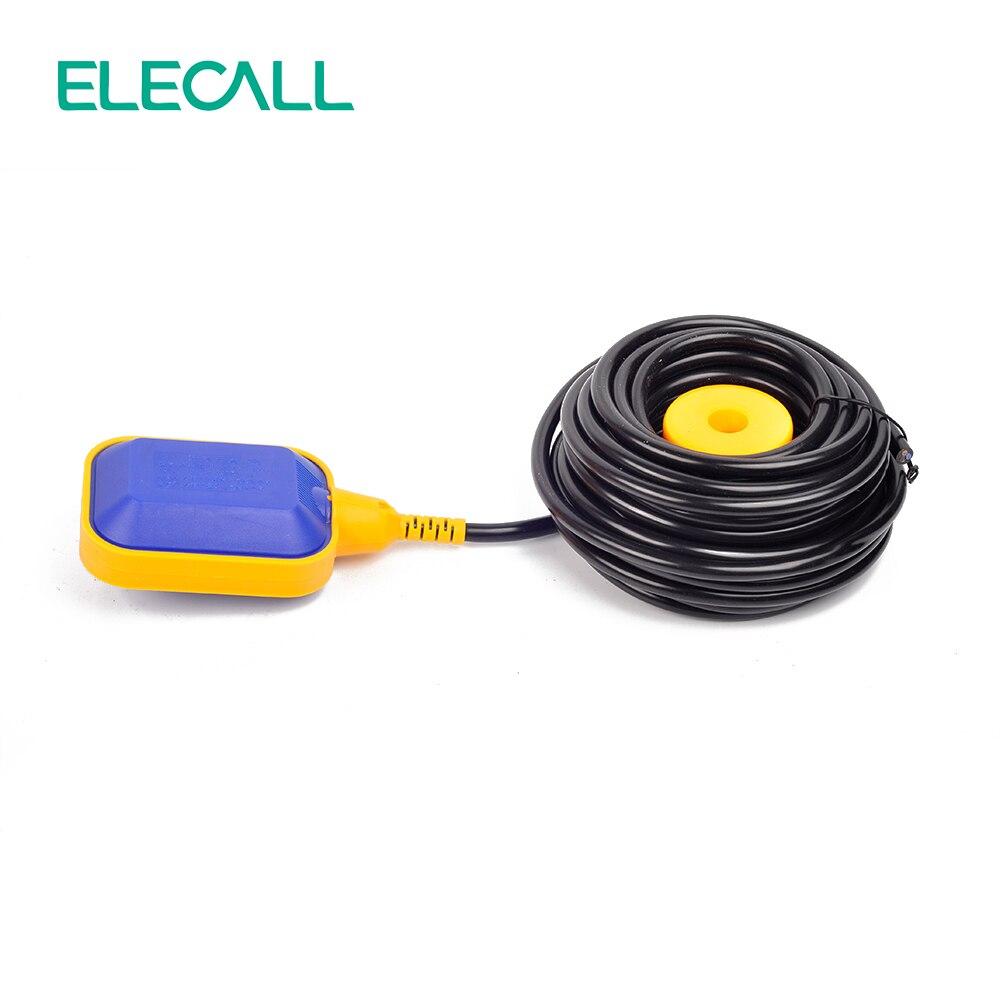 2016 Bset vente 10 M contrôleur flotteur interrupteur liquide commutateurs liquide fluide niveau d'eau flotteur interrupteur contrôleur contacteur capteur