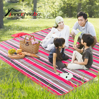 접이식 접이식 야외 캠핑 매트 좌석 옥스포드 천 쿠션 휴대용 방수 의자 피크닉 매트 패드 3 색 무료 배송