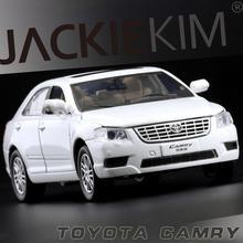 Alta simulazione auto, 1:32 di alta qualità Toyota Camry, 4 porta aperta, lega del metallo tirare indietro modello di auto, shpping libero
