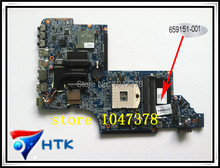 Wholesale For HP DV6-6000 dv6-6100 laptop motherboard 659151-001 100% Work Perfect