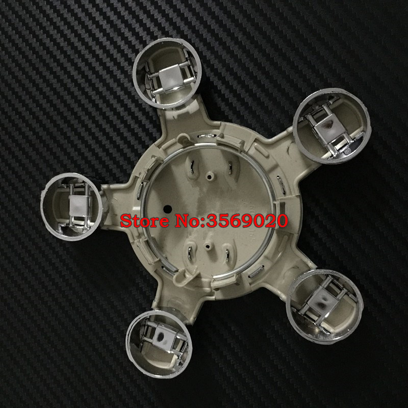 100pcs Wheel Center Hub Caps Auto Covers For 2009-2013 8P S LINE 8R0601165 Auto Accessories BY DHL