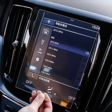 Автомобильный gps навигационный экран, стеклянная Стальная Защитная пленка для Volvo V90 XC90 S90 XC60-, контроль ЖК-экрана, автомобильная наклейка