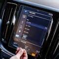 車の Gps ナビゲーション画面ガラス鋼保護フィルムボルボ V90 XC90 S90 XC60 2018-2019Control の液晶画面車のステッカー