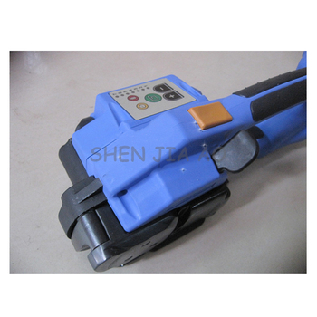 Embaladora eléctrica ORT-200, empacadora de cinta PP y PET, empaquetadora de hebilla libre, máquina flejadora de cartón, herramienta de embalaje alimentada por batería recargable