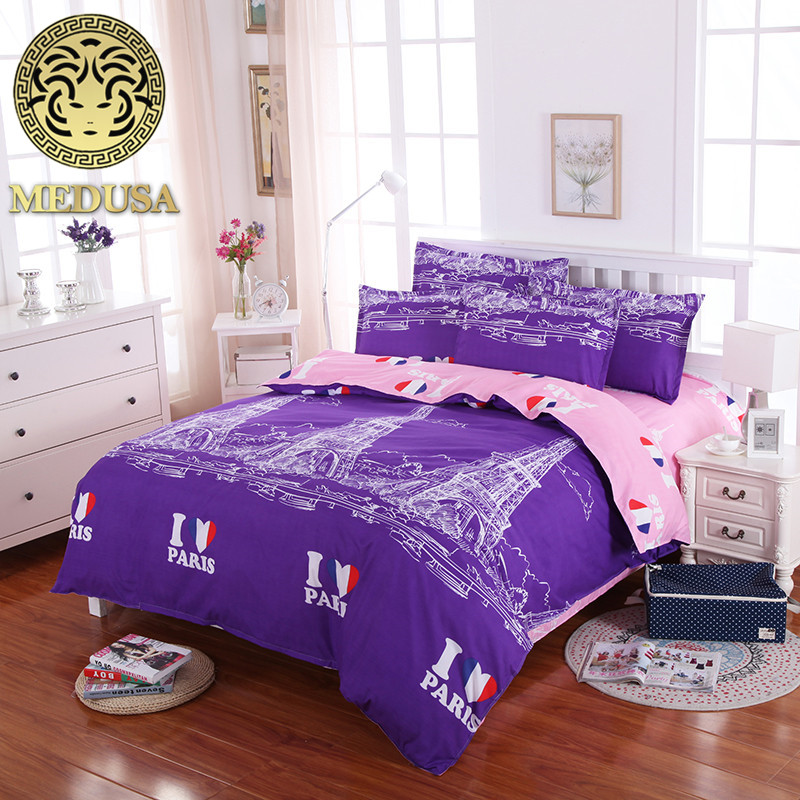 【medusa I Love ⑤ Paris Paris Casual Bedding Collection