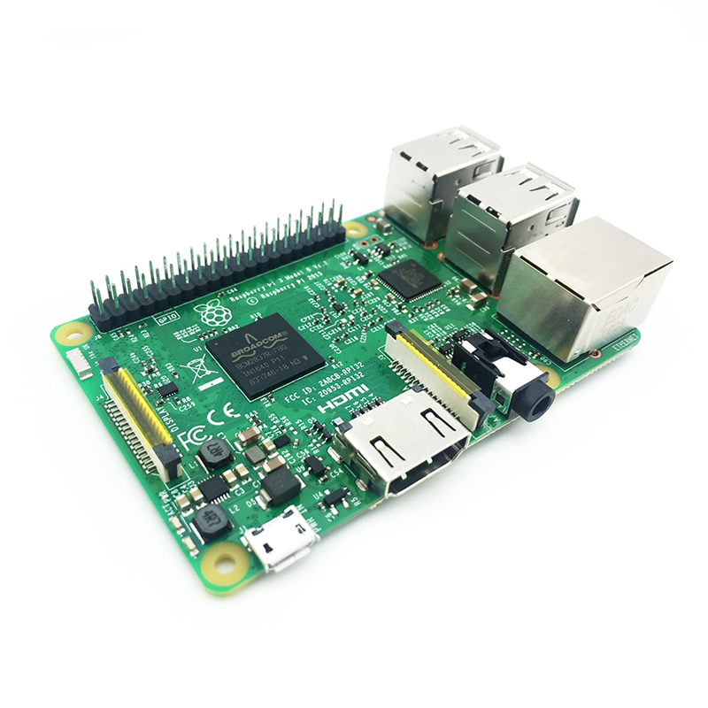 Image 4 - Raspberry Pi 3 Model B Board 1GB LPDDR2 BCM2837 Quad Core Ras PI3 B,PI 3B,PI 3 B with WiFi&Bluetooth-in Demo Board from Computer & Office