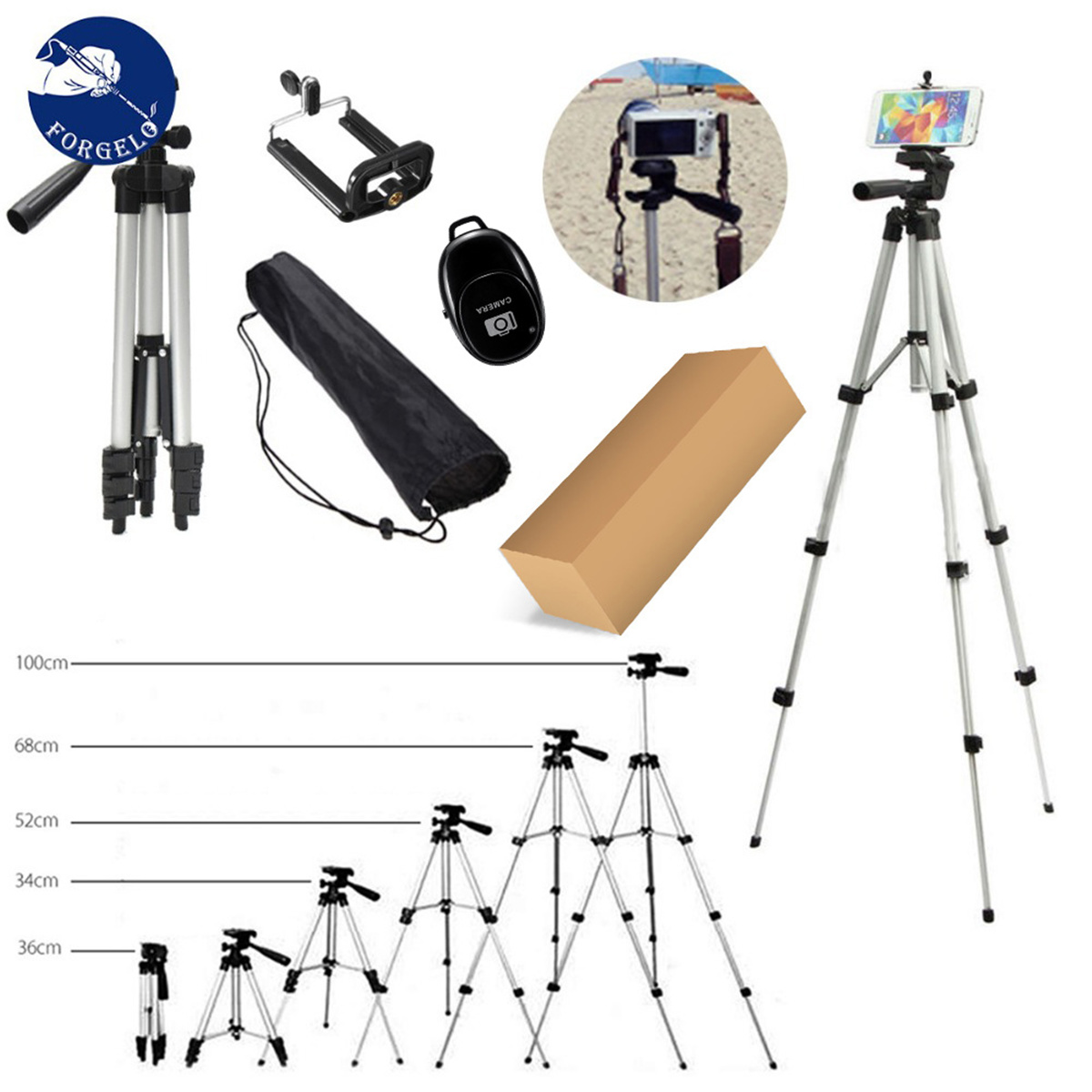 Aliexpress.com : Buy Extension Mini Tripod for Cell Phone