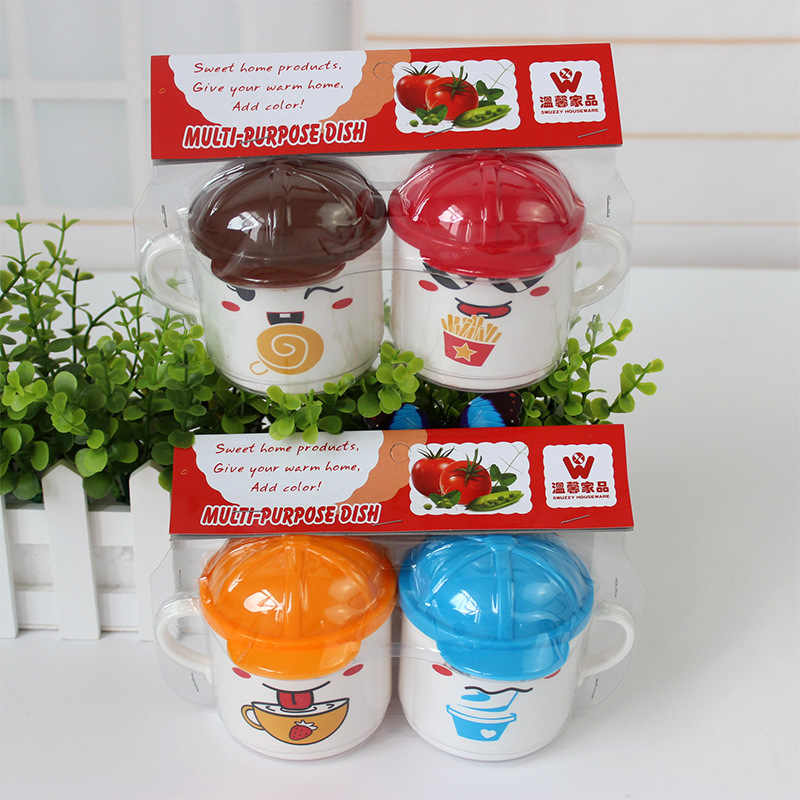 1 Uds. Taza de té de agua y leche para niños de 200ml de plástico de PP de seguridad con dibujos animados de animales bonitos y coloridos taza de té