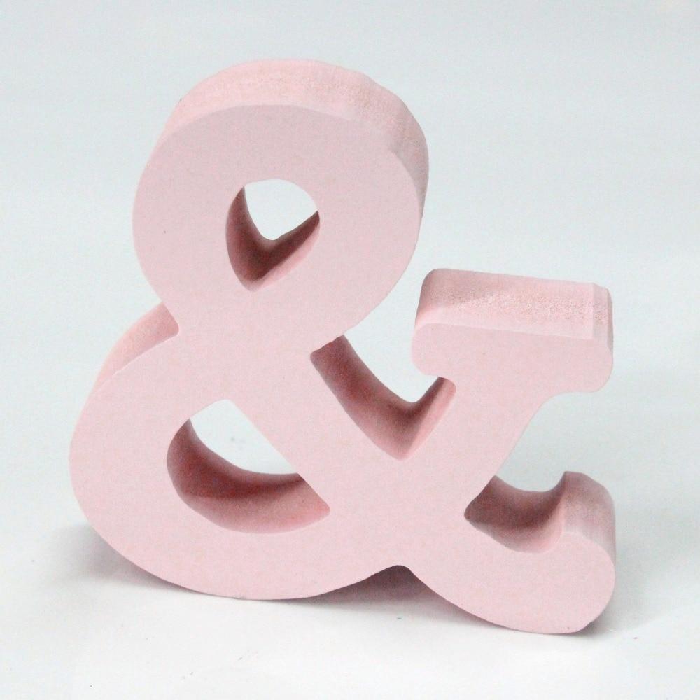 15 cm letra artificiale prej druri për Dekorimin e dasmës së - Dekor në shtëpi - Foto 3