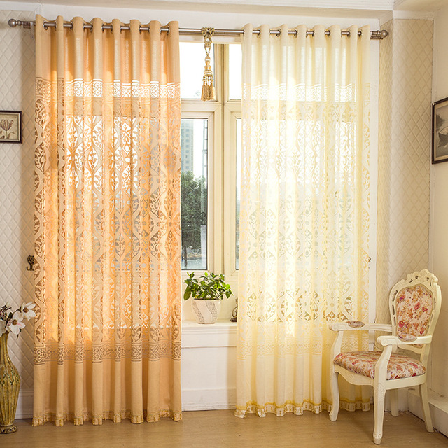 Flor de luxo duas cores diferentes jaquard bordado cortina - Diferentes modelos de cortinas para sala ...