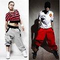 Estilo do verão harem pants hip hop moletom Parkour fertilizante calças calças casuais calças soltas hiphop para homens e mulheres
