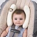 Alta calidad infantil Cradler del niño del bebé Safty corbata protección de la cabeza ajustable de desplazamiento cochecito de coche de bebé asiento almohada