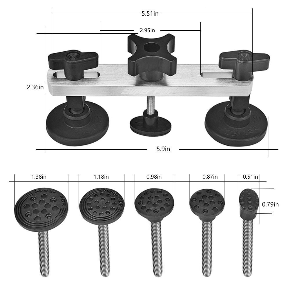 PDR įrankiai Automobilių dantų šalinimo priemonės Automobilių - Įrankių komplektai - Nuotrauka 3