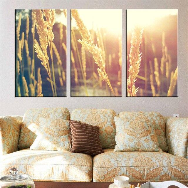 Современные Книги по искусству работает HD напечатаны на холсте растительного масла роспись стены Книги по искусству Модульная картина украшения дома закат плакат Unframed 3 Панель