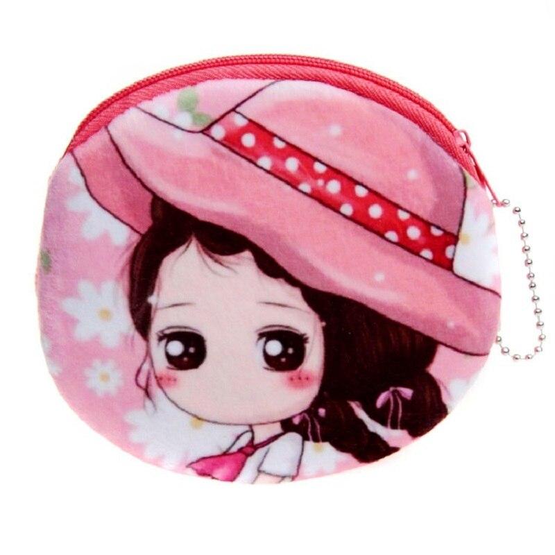 FleißIg Plüsch Cartoon Prints Frauen Shorts Brieftasche Mini Geldbörse Kleine Geld Tasche Bolso Mujer Bolsa Carteira Feminina Für Mädchen Kinder- & Babytaschen Gepäck & Taschen