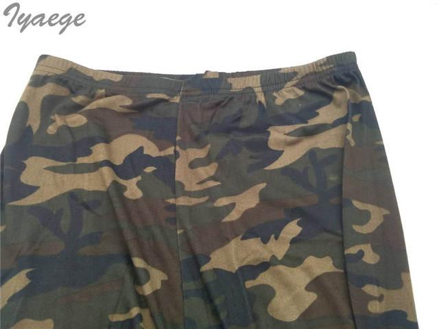 df42c4f109db Cargo Camouflage Fashion Women Camuflage Pants Capri High Waist Large Big  Size Summer Floral Sexy Skinny