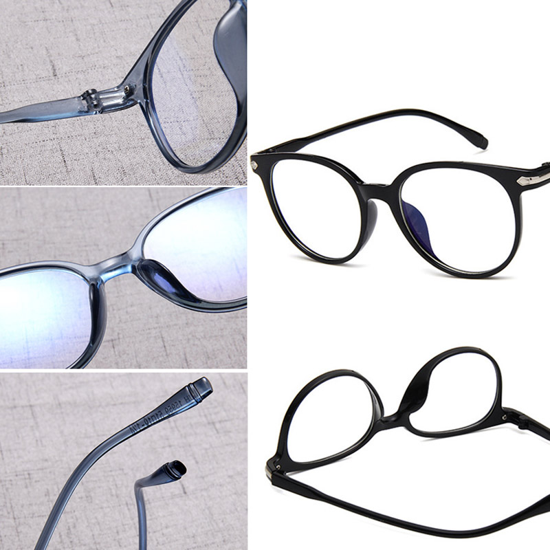 Women Spectacle Optical Frame Glasses Clear Lens Lady Vintage Computer Anti-Radiation Eyeglasses GDD99