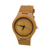 Luxury Fashion Wood Watches For Women With Genunie Leather Watchband  Ladys Christmas Gifts