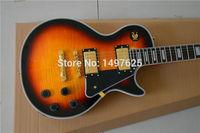 Free Shipping New Lp Custom SHOP Electric Guitar Sunburst Color Ebony Fingerboard Oem Brand Guitar In