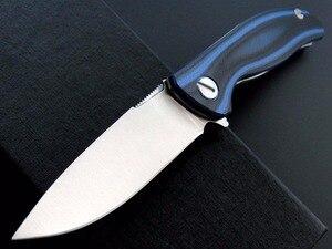 Image 4 - Eafengrow F3 Coltello Pieghevole cuscinetto a sfere lame di Campeggio G10 Manico di Tasca Tattica Della Lama Flipper Strumento Di Sopravvivenza Allaperto Coltelli
