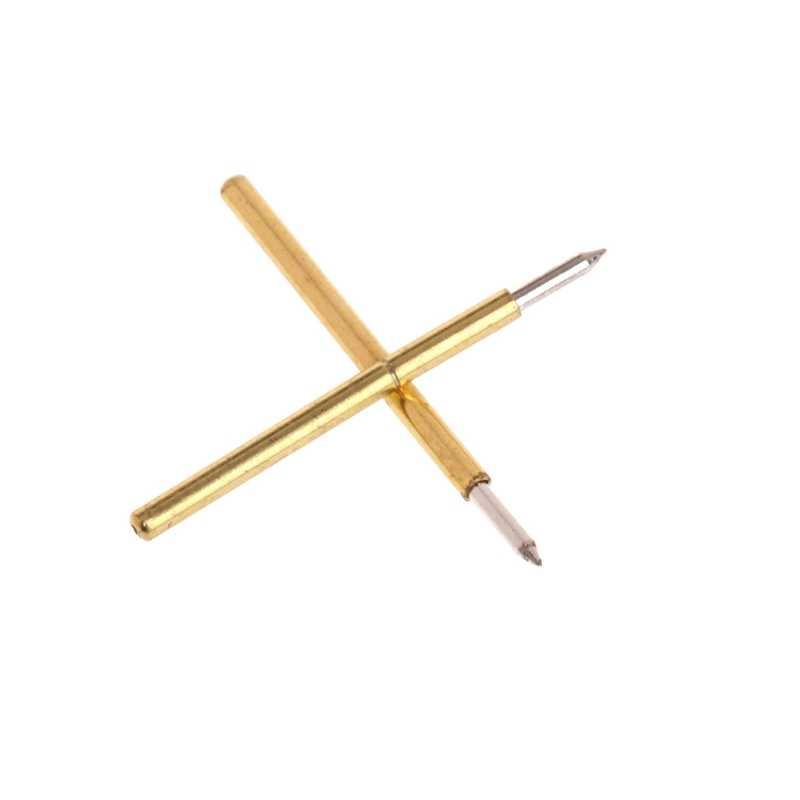 100 PCS DIA 1.02 มม.ความยาว 15.85 มม.100G ทดสอบสปริง Pogo Pin เครื่องมือ P75-B1