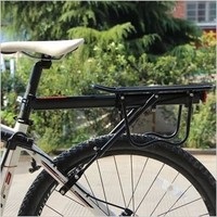 Mountain bike bicycle cargo racks Bicycle Aluminum alloy rear shelf with flank