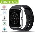 Torntisc 2017 QW08 Android 4.42 Bluetooth 3 Г Smart Watch MTK6572A 1.54 дюймов ЖК-Экран Поддержка NANO Sim-карты WIFI 3 Г сети