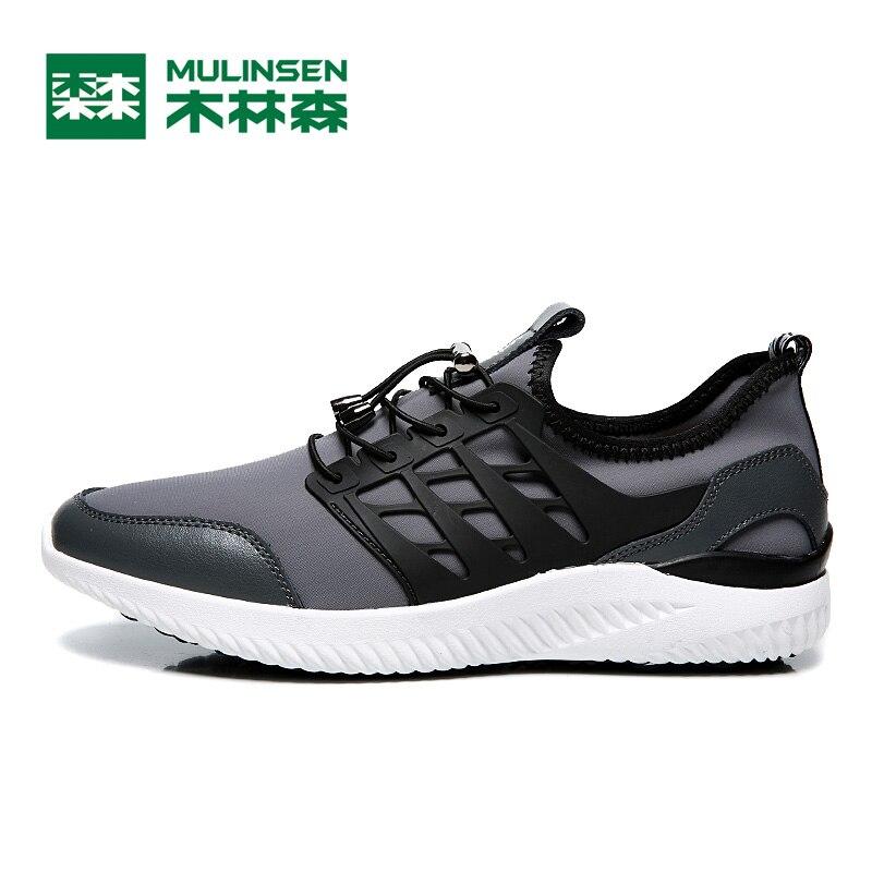 Nuove tendenze nella primavera del 2017 pattini correnti degli uomini  tessuto elasticizzato sneakers da uomo di