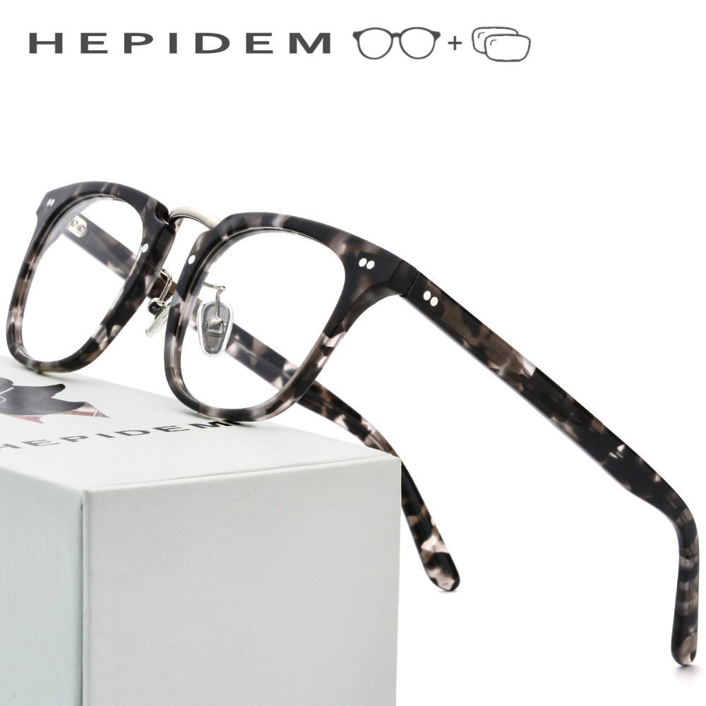 Acetate Prescription Glasses Frame Men Metal Square Eyeglasses Women Female Full Fors Optical Frame Clear Spectacles USA Eyewear acetate prescription glasses frame men oliver full round spectacles fors women peoples optical nerd myopia wood grain eyeglasses