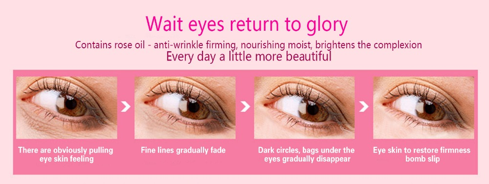 Day and Night Elastic Eye cream Skin care Facial Anti- puffiness Face Care Dark circles Anti Wrinkle Aging Moisturizing Firming 3