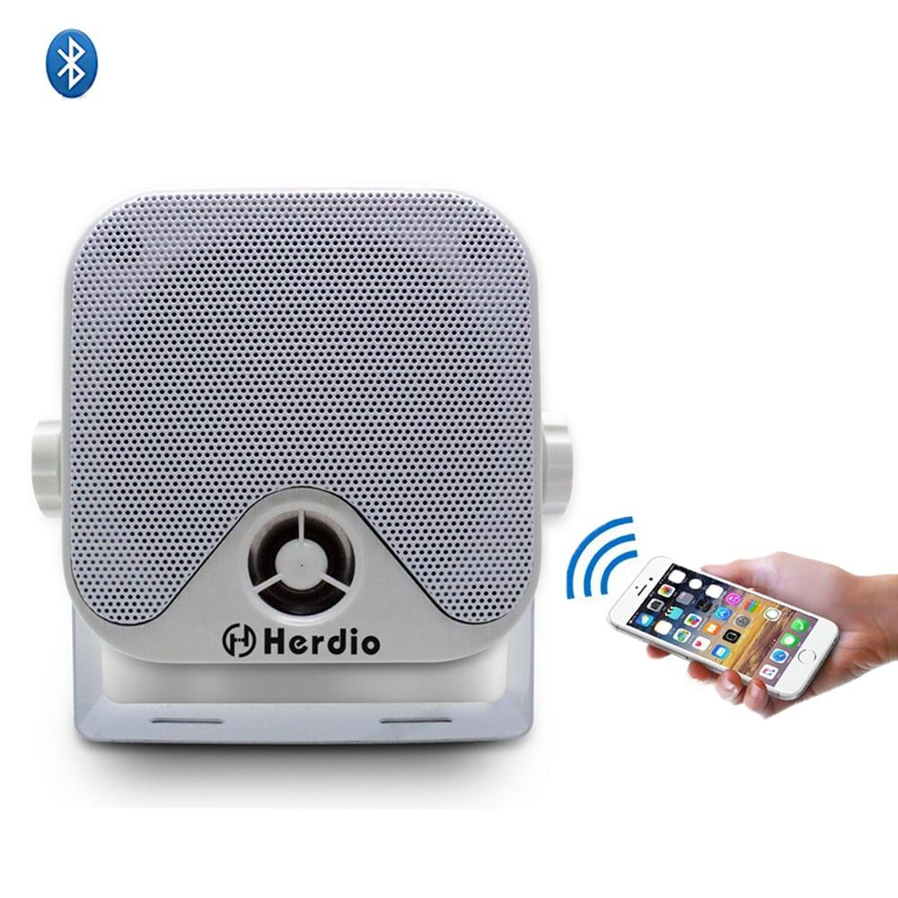"Bluetooth Marine Speaker  marine Audio System boat Sound Waterproof 4/"" speaker"