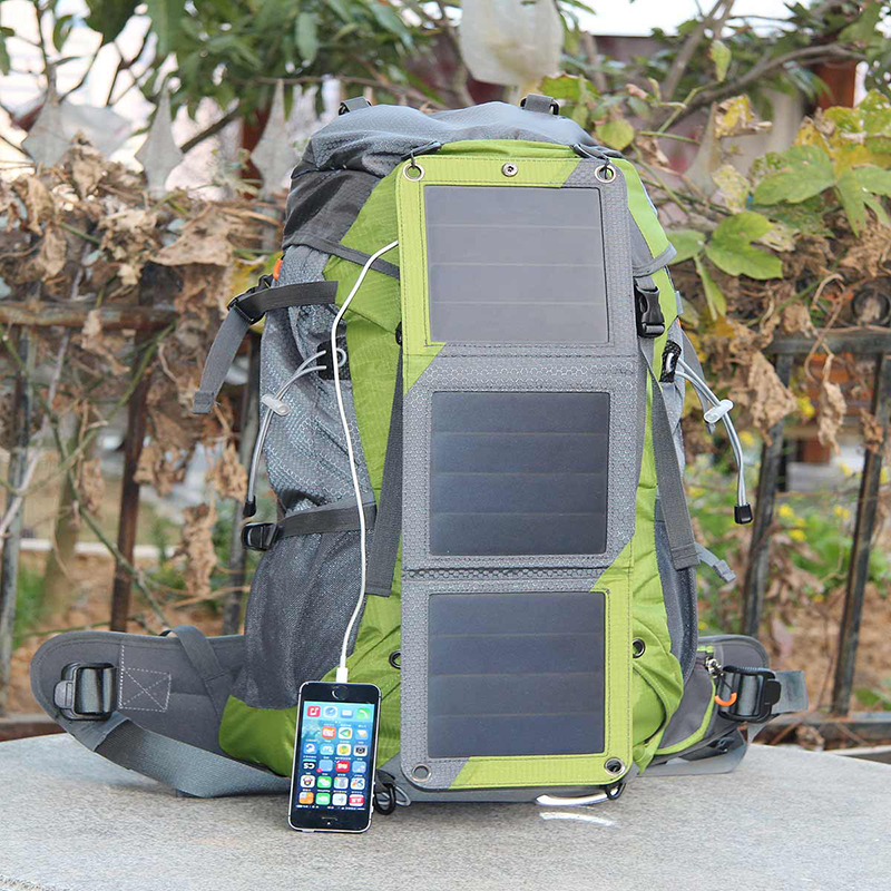 Wholesale, 53L Travel Solar 10W Backpack Outdoor Mountaineering bags With 2L Water Bag For Phones Camera Camping Travel Knapsack