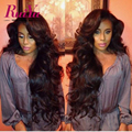 Full Lace Human Hair Wigs 7A Lace Front Human Hair Wigs With Baby Hair Peruvian Body Wave Human Hair Lace Front Wigs Black Women