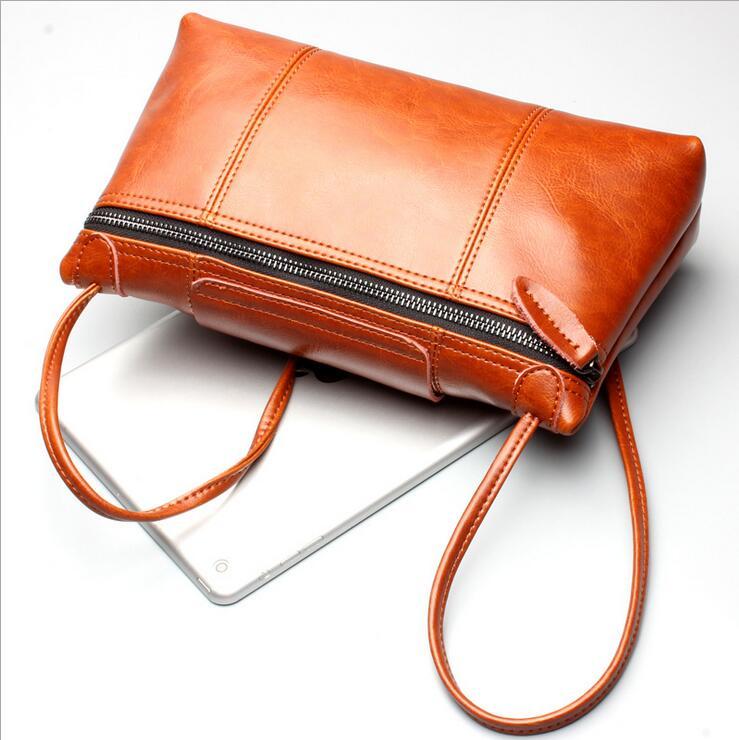 2017 Women Messenger Bags Genuine Leather Handbag Casual Women Bag Famous Brands Luxury Women Bag Designer Vintage Shoulder Bag