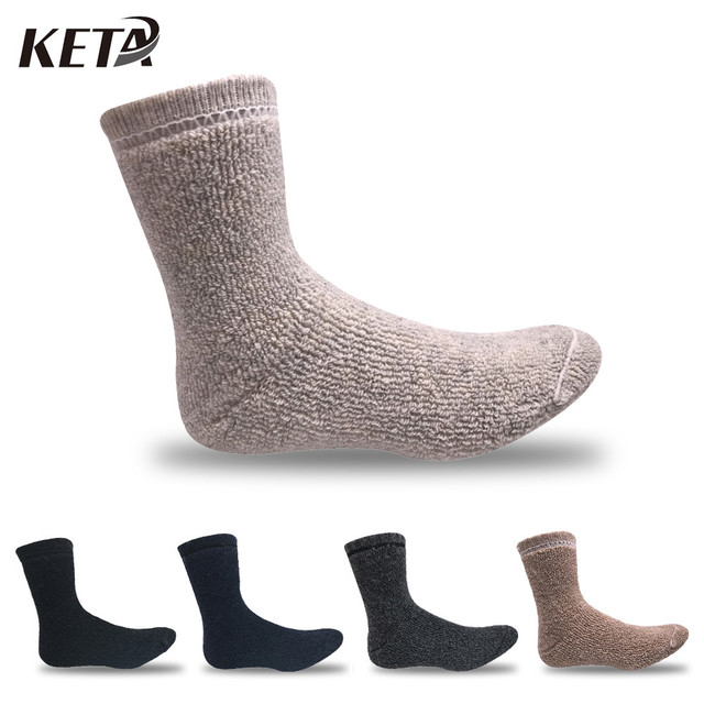 e2e8efd3f6f34 KETA Super Thick Merino Wool Socks Men/Women Colorful Winter Thermal Warm  Socks Brand Thick Winter Socks(3Pairs/lot)