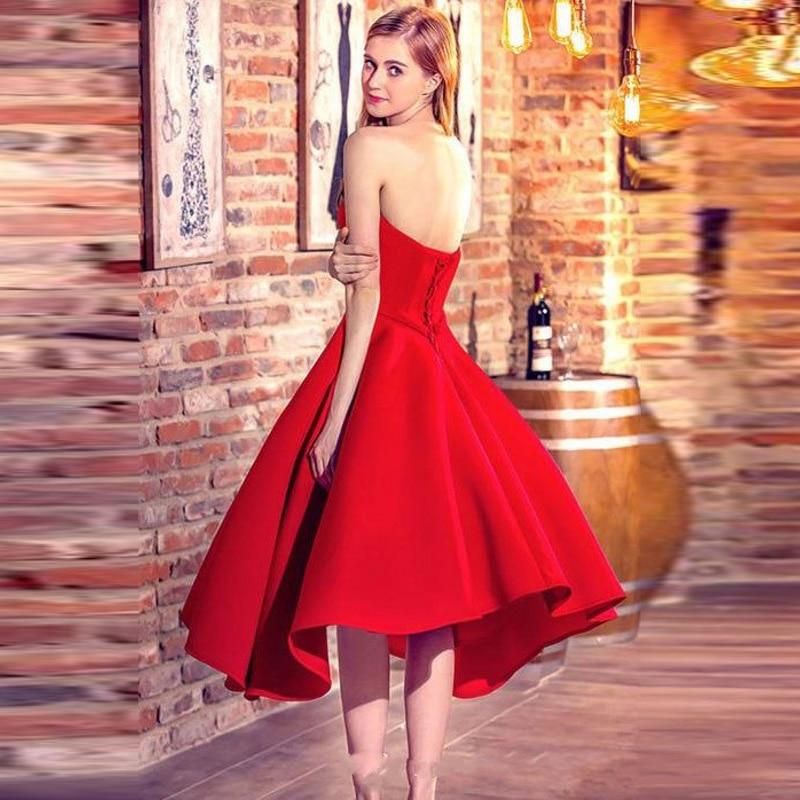 Cheville Robes Formelle Fête Soirée Tenue Mesure Délicat De Rouge Robe Fait Longueur Same Pic Sur Bal Encolure Longo Longue As Abiye AwxwBq6dF