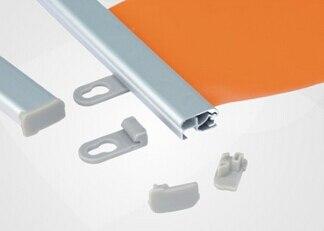 70cm aluminium poster hanger strip advertising pop banner clip fame rails hanger strip