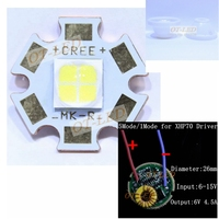 CREE XHP70 6V LED 6500K Cool White 5000K Neutral White 3000K Warm White LED Emitter Didoes