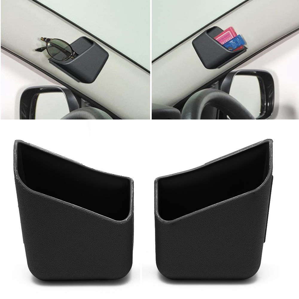 US $2.29 7% OFF|2Pcs Universal Car Glasses Organizer Storage Box Holder Stowing Tidying 3 Colors Car Auto Accessories|Stowing Tidying| |  - AliExpress